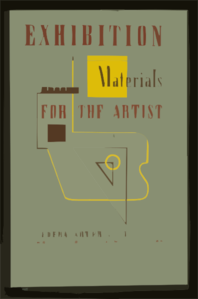 Exhibition Materials For The Artist / J.r. Clip Art