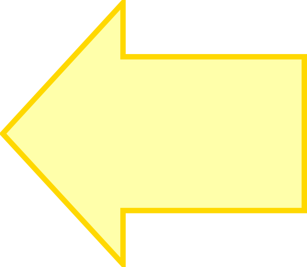 clipart yellow arrow - photo #4