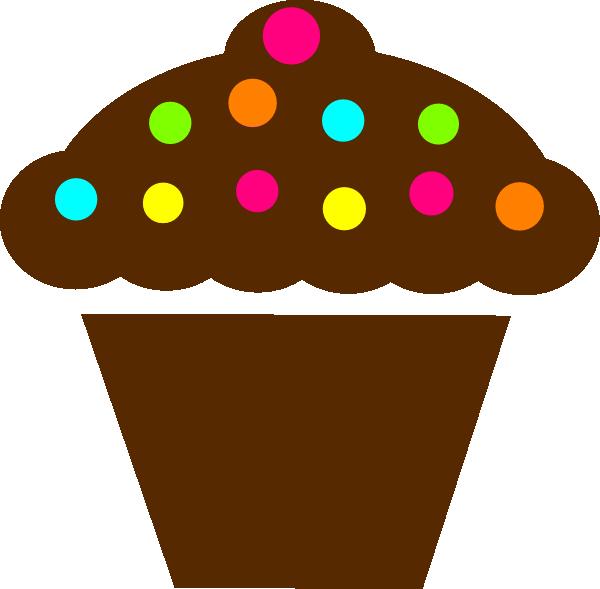 Clipart De Cupcake : Polka Dot Cupcake Clip Art at Clker.com - vector clip art ...