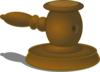 Judge Hammer Clip Art
