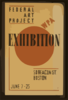 Exhibition - Wpa Federal Art Project  / Hg [monogram]. Clip Art