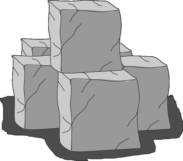 Stone Block Clip Art : Stone blocks clip art at clker vector
