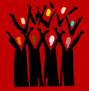 Lift Up Your Voice Diverse Choir 2 Clip Art