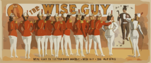 The Wise Guy Clip Art