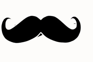 Mustache Looty Clip Art at Clker.com - vector clip art online, royalty ...
