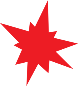 Red Star Clipart Clip Art