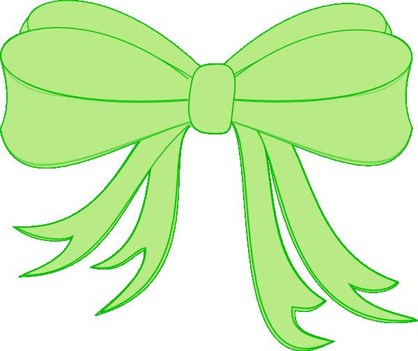 free clip art green ribbon - photo #8
