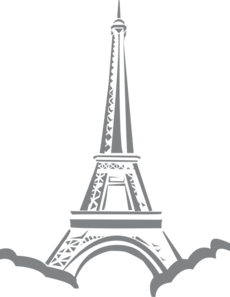 Effel Tower In Paris Clip Art