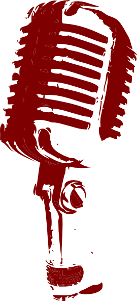 Vintage Microphone Clip Art at Clker.com - vector clip art ...