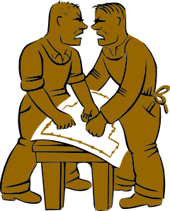 Coworkers Yelling At Each Other Clip Art