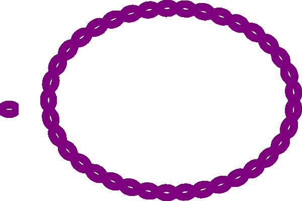 purple oval rope border clip art at clker com vector clip art rh clker com cowboy rope border clip art oval rope border clip art