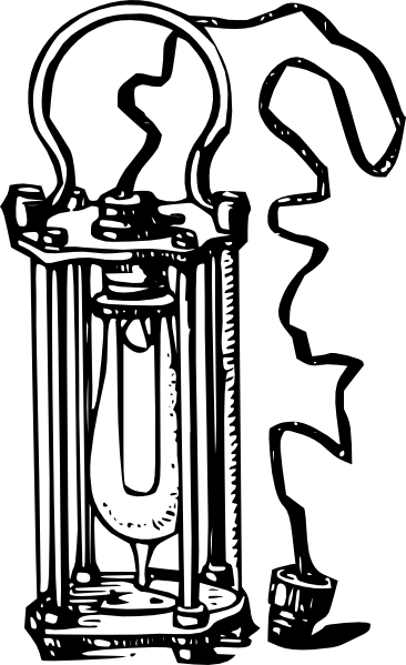 antique electric lamp clip art at clker com