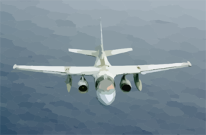 An S-3b Viking Assigned To The Dragonfires Of Sea Control Squadron Twenty Nine (vs-29). Clip Art