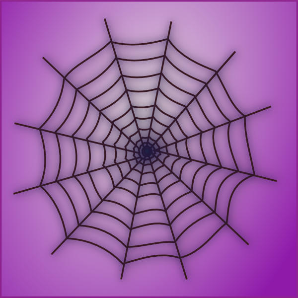 spider web clip art at clkercom vector clip art online