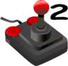 Joystick Two Clip Art