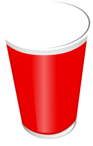 Empty Red Cup Clip Art