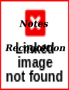 Notes Recognition Clip Art