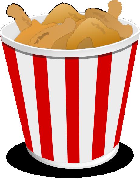 fried chicken clip art at clkercom vector clip art