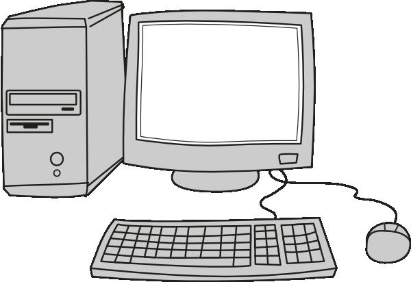 Computer Blank Screen Clip Art at Clker.com - vector clip art online ...