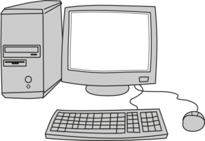 Computer Blank Screen Clip Art