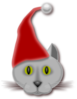 Christmas Cat Clip Art