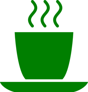 Green Coffee Mug Clip Art