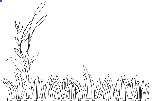 Line Drawing Grass : Grass outline clip art at clker vector