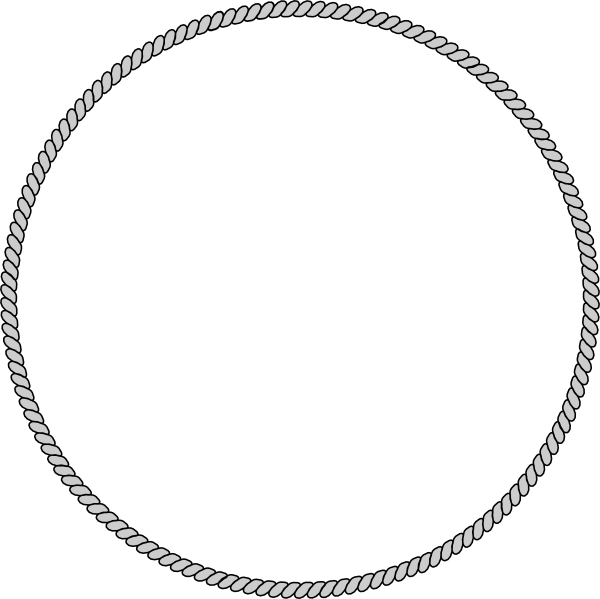 clipart rope border circle - photo #42