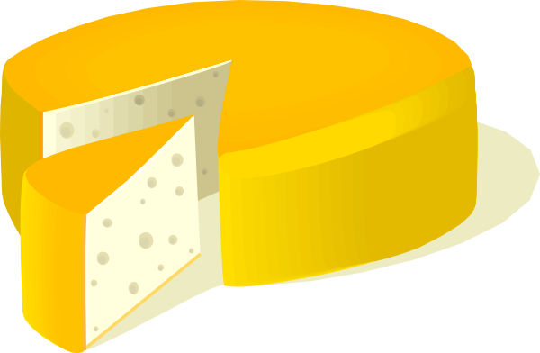 Cheese Wheel Clip Art : Cheese wheel clip art at clker vector