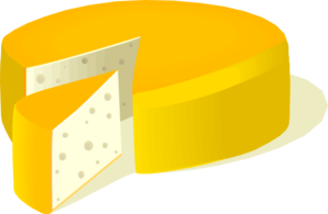 Cheese Wheel Clip Art