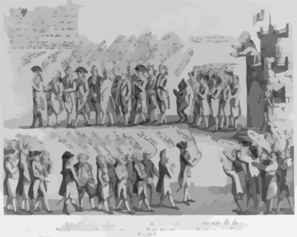 The Surrender Of Government Castle, In March 1782, To The Late Besieging Minority Clip Art