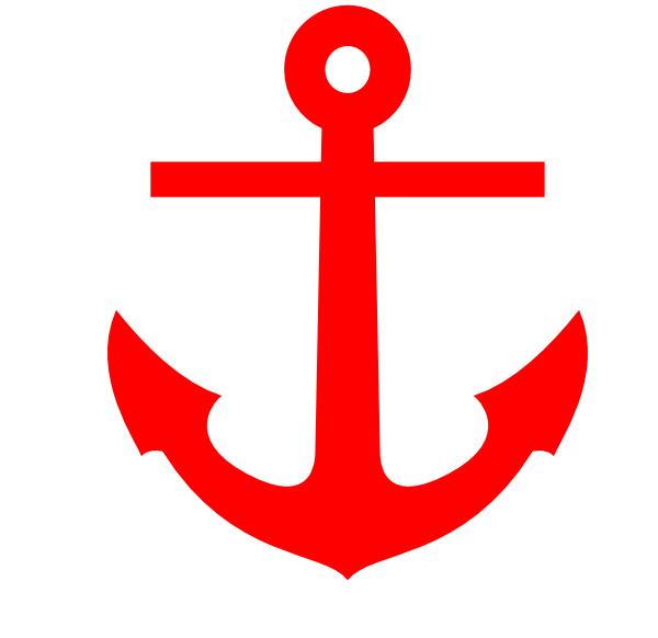 Red Anchor Clip Art at Clker.com - vector clip art online ...