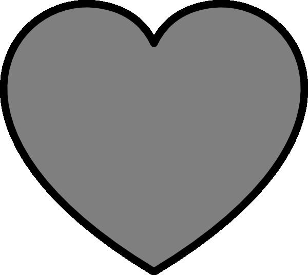 Black outline heart emoji