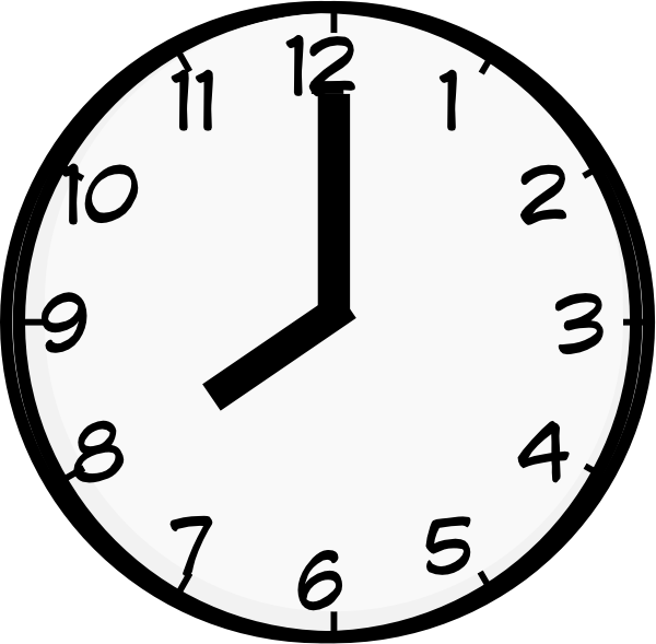 8 o clock clip art at clker com vector clip art online royalty rh clker com clock clipart black and white clock clip art printable