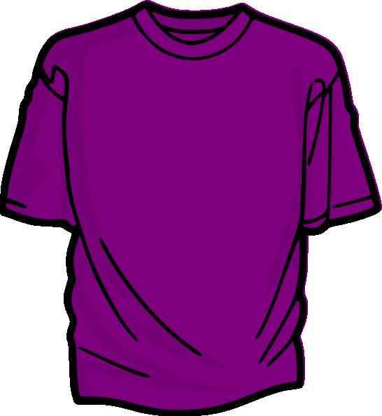 purple t shirt clip art - photo #1