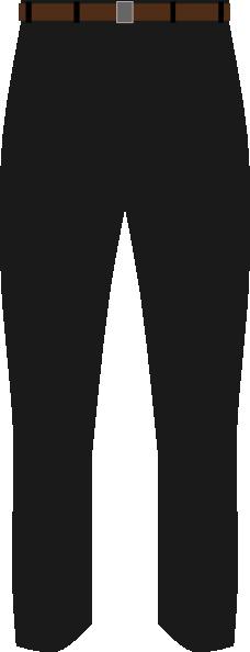 Black Pants Clip Art at Clker.com - vector clip art online royalty free u0026 public domain