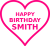 Smith Bday15 Clip Art