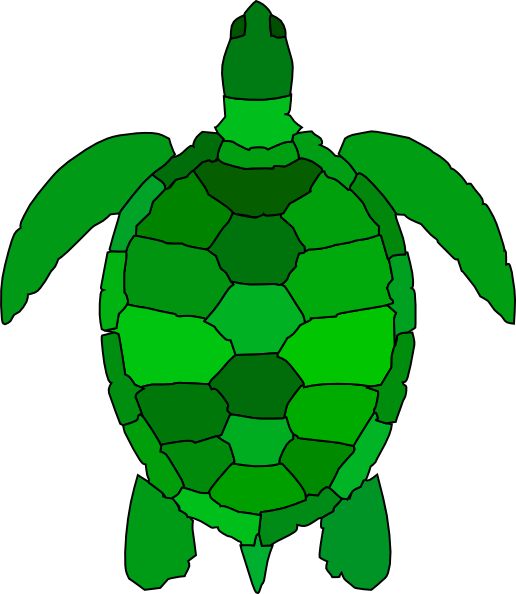 Turtle Clip Art at Clker.com - vector clip art online, royalty free ...: www.clker.com/clipart-turtle-1.html