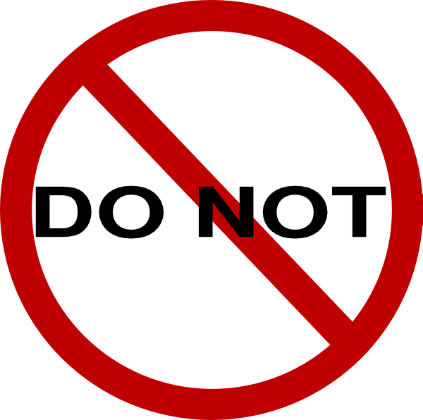 Image result for do not