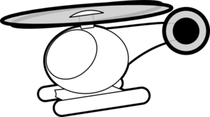 Toy Helicopter Clip Art