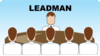 Leadman Seating Arrangement (group Discussion) Clip Art