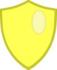 Skyski Shield Clip Art