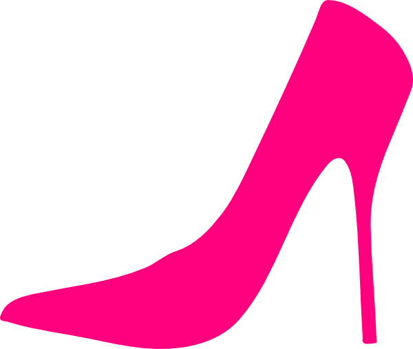 c74fd308399f9 Pink Shoes Clip Art at Clker.com - vector clip art online, royalty ...