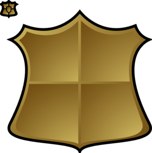 Gold Shield Clip Art