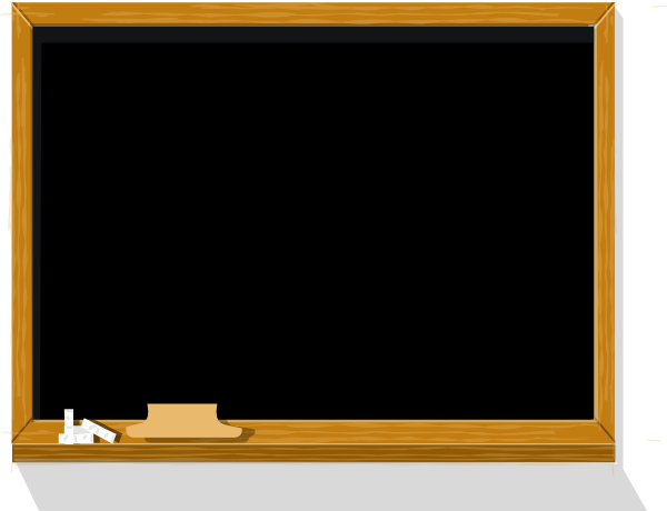 Chalkboard Clip Art at Clker.com - vector clip art online, royalty ...