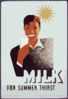 Milk - For Summer Thirst Clip Art