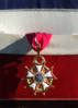 A Close Up Shot Of The Legion Of Merit As It Hangs On A Presentation Frame Which Was Presented To Vice Admiral Cees Van Duyvendijk, Commander In Chief, Royal Netherlands Navy Clip Art