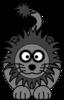 Cartoon Golden Lion Clip Art at Clker.com - vector clip ...