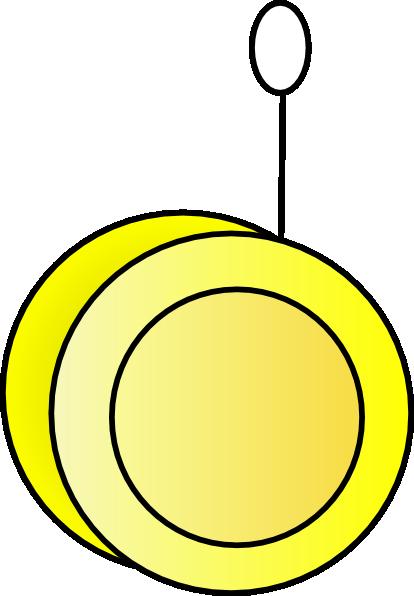 Yoyo Clipart Yellow Yo-yo Clip Art ...