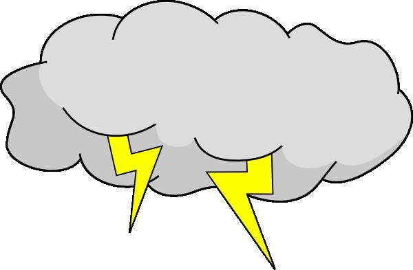 Storm Cloud Clip Art at Clker.com - vector clip art online ...